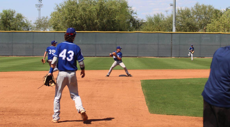 Parker Schmidt Dodgers Scout Team